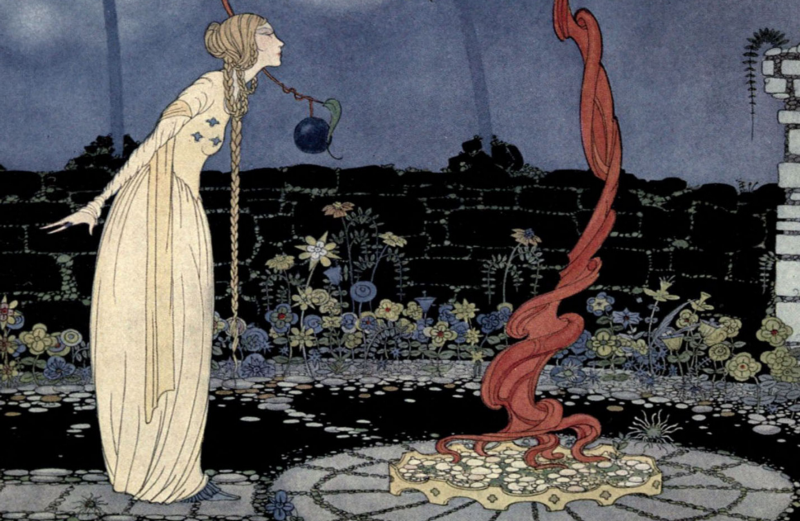 Old French Fairy Tales, illustrated by Virginia Francis Sterrett, age 19 (1920)